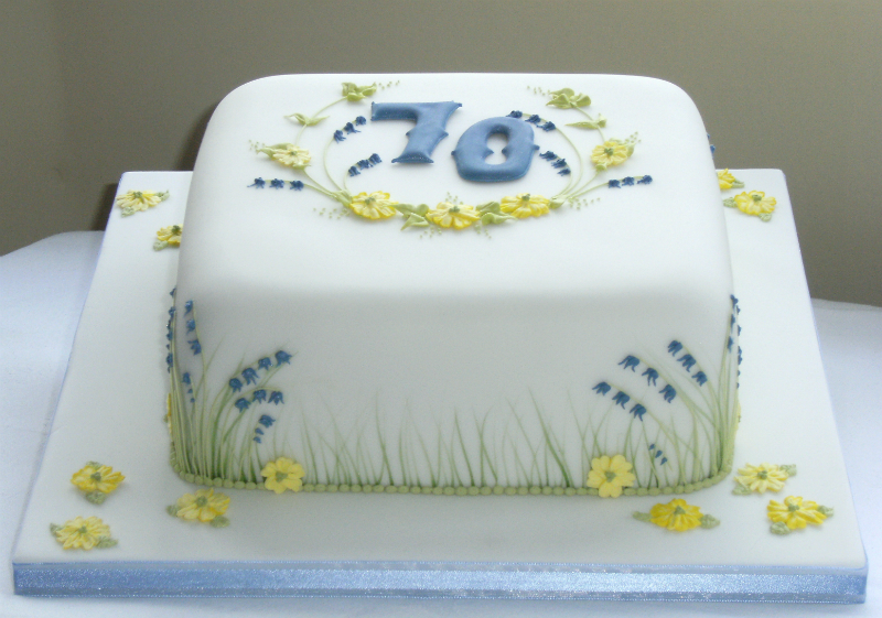 Birthday Cake By Bluebell Design Dorking In Surrey