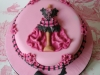 Burlesque themed birthday cake, Gold medal winner at ABST annual conference.