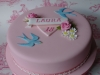 18th birthday cake by Bluebell Cake Design