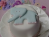 Minature Christening Cake for Dorking Christening