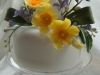 Spring themed wedding cake made in Dorking by Bluebell cake Design