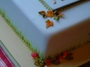 Autumn leaves & toadstool cake for Greyhound lovers